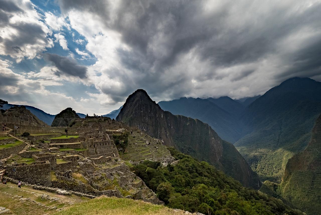 Machu Picchu ruins,  Peru