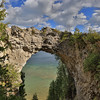 Arch Rock, Mackinac Island State Park, Mackinac Island, Michigan