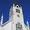 Sainte Anne Church, Mackinac Island, Michigan built in 1874.