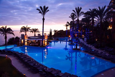 Pool of Pestana Promenade hotel