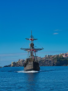 Madeira Pirate Ship
