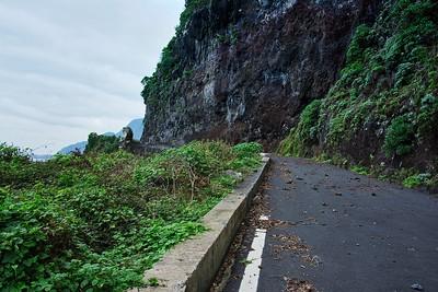 The old road to Porto Moniz