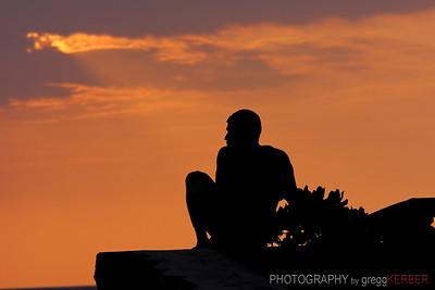 Sunset, Kona, HI