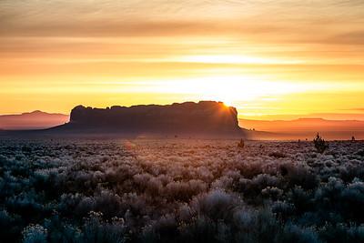 Fort Rock Sunrise