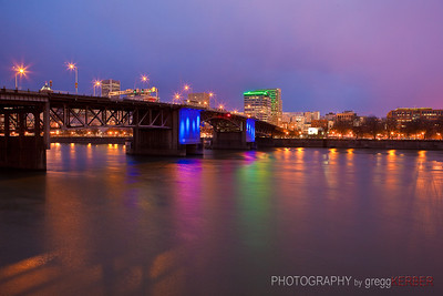 Morrison Bridge, Portland, OR