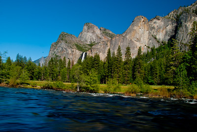 Merced River & Bridal Veil Falls