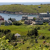 View of Monhegan Island in Maine