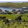 View of Monhegan Island in Maine