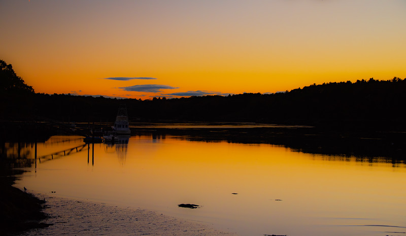 Sunset On The Sheepscot
