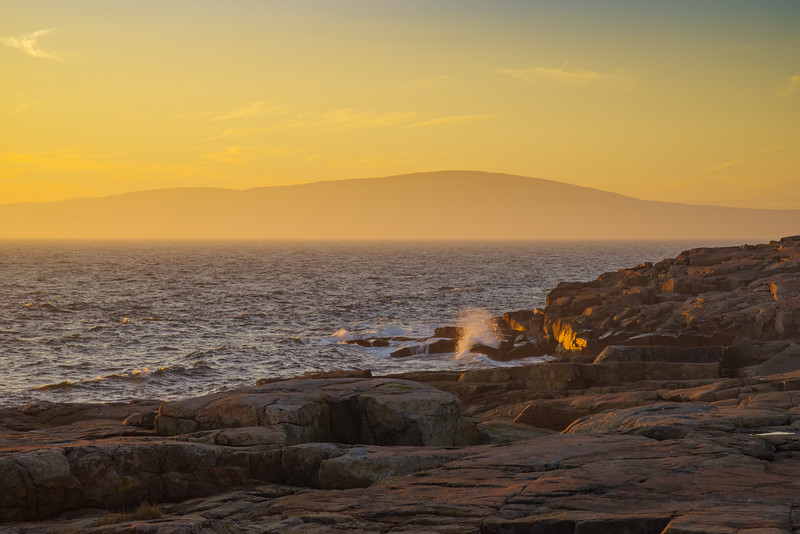 Golden Hour, Schoodic Point
