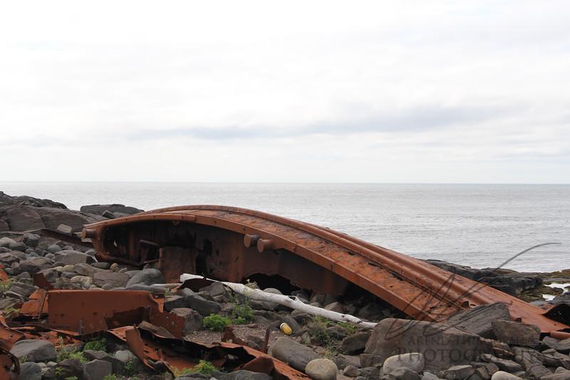 D.T. Sheridan Shipwreck Monhegan Island