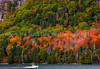 Autumn View Along Somes Sound