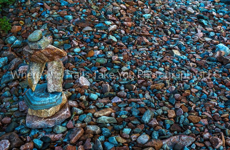 Artfully-Balanced Cairn