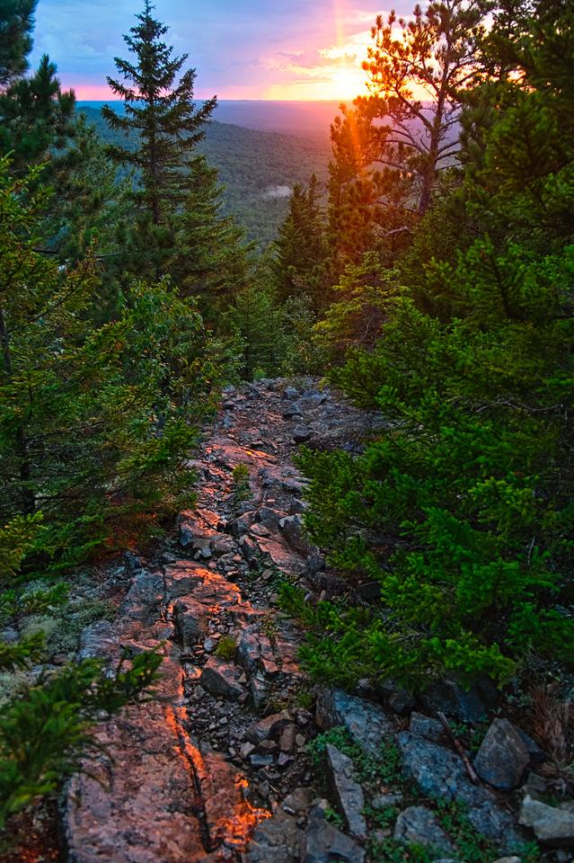 Traveller Mountain Loop, Baxter State Park