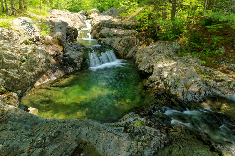 Howe Brook and Howe Brook Falls, Baxter State Park