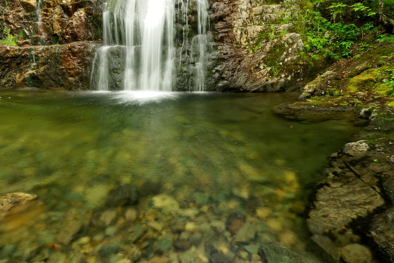 Howe Brook and Howe Brook Falls, Baxter State Park