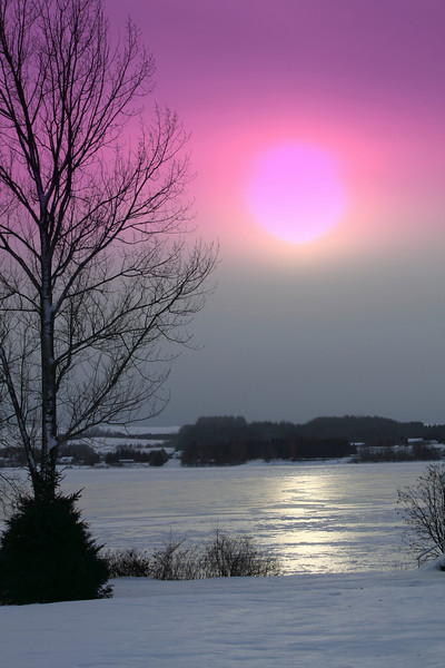 Winter Sun - Pelletier Island, Maine
