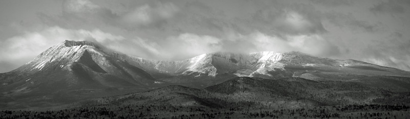 Mount Katahdin in Monochrome