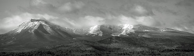 Mount Katahdin in Monochrome