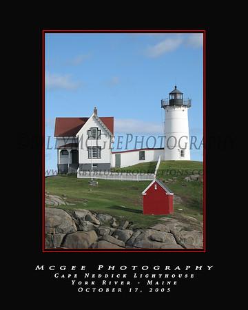 Cape Neddickk Lighthouse - 17 Oct 05