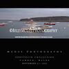 Camden Maine - Harbor Boats (Black)