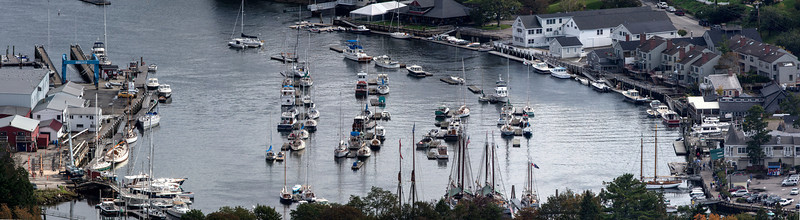 Imaged from top of Battie with Canon 500 mm f/4 lens not cropped.
