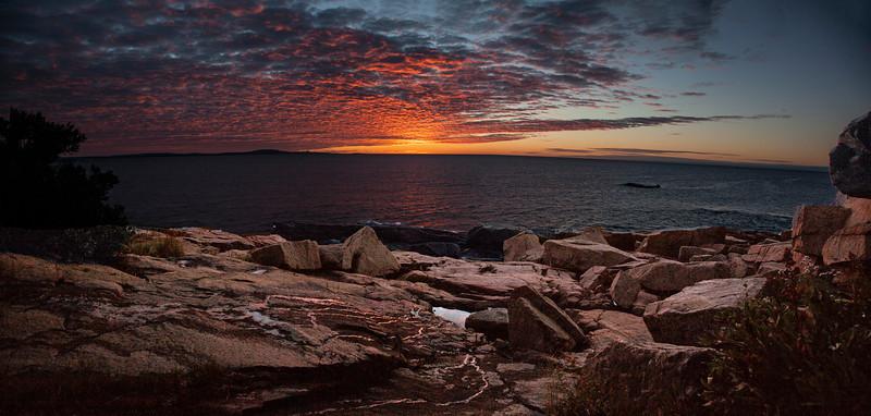 Sunrise at Otter Point
