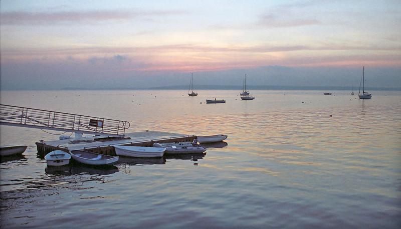 Bayside, Maine at sunrise