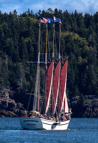 Day sail on the Margret Todd out of Bar Harbor