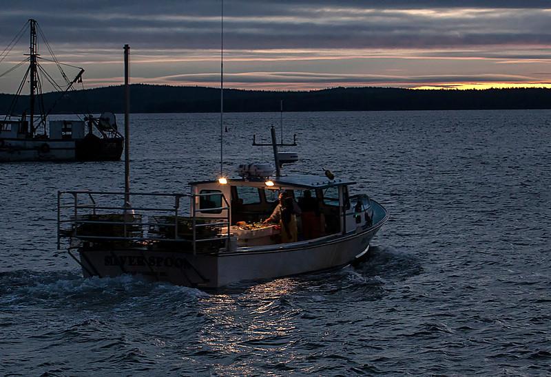Bar Harbor at sunrise