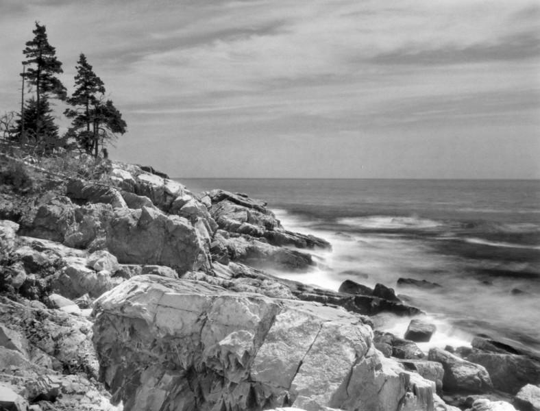 Arcadia Maine, Silver halide print