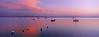 Sunrise at Bayside, Maine panorama
