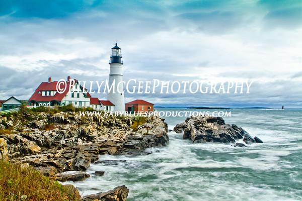 Maine - Cape Elizabeth - Portland Head Lighthouse - 07 Oct 10