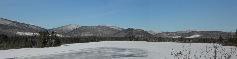 A view of Kennebago Lake from the Causeway.