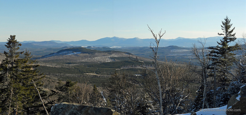 Overlook from Kibby Mountain