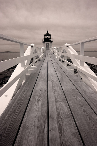 Marshall Point Lighthouse, Port Clyde ME (IR)