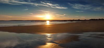 Maine Sunset (pano)