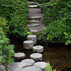 Stepping Stones at Asticou Zen Gardens