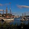 Sailboat Mary Day in Camden Harbor.