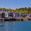 "Stonington Harbor, Maine. Located on Deer Island, the southern most point of the Blue Hill Peninsula. This harbor is featured in Terrell Lester's book ""Maine, The Seasons""."