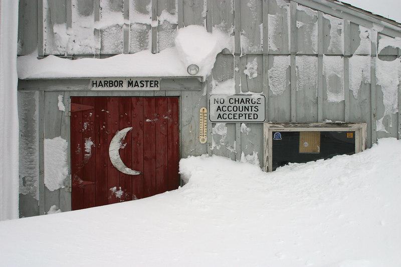 cape porpoise snow