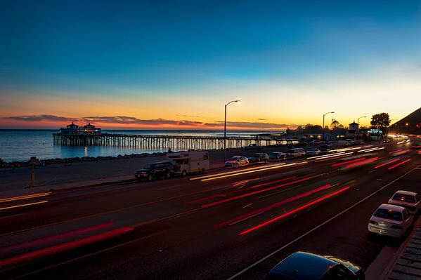 Malibu Sunset with Pier_8566