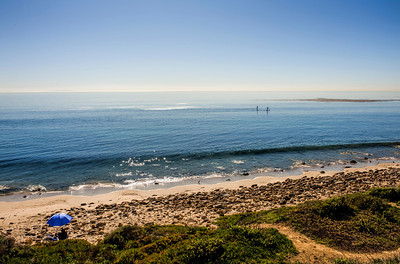 Carbon Beach Malibu CA jan 09 plate II