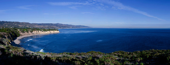 Point Dume Panorama plate II Jan 09