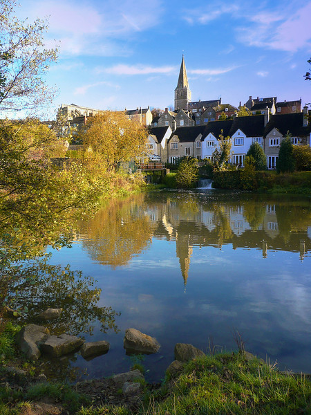 Malmesbury, Wiltshire, The River Avon