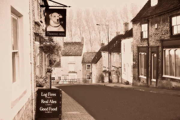 The Smoking Dog, Malmesbury,Wiltshire
