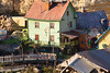 "Popeye Village : Landscape photos of SWEETHAVEN VILLAGE; the Film Set of the 1980 Musical Production ""Popeye"", also known as 'POPEYE VILLAGE'. This 'village' was constructed in Anchor Bay during the last 7 months of 1979."