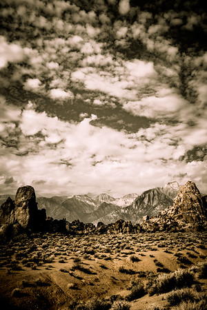 Alabama Hills, Lone Pine California