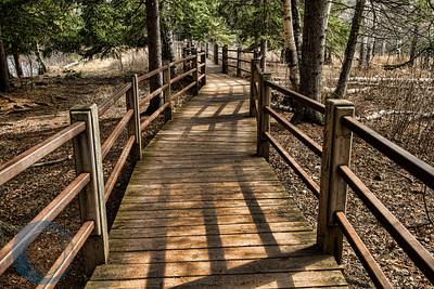 Walkway Gooseberry Falls State Park