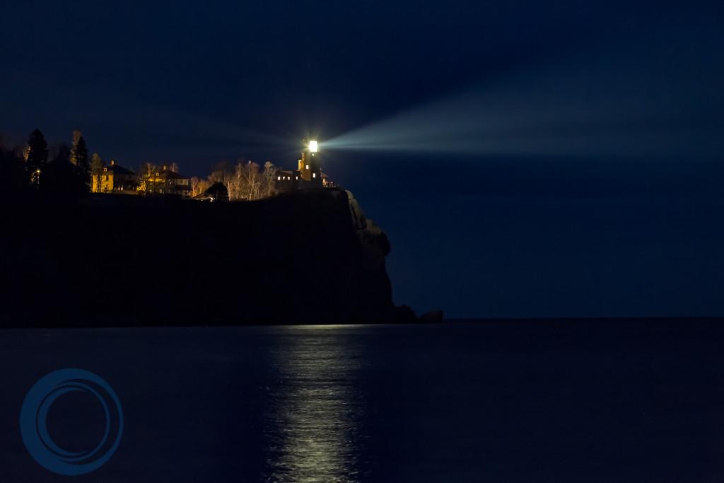 Split Rock Lighthouse Lit Up
